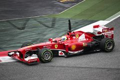 Fórmula 1 de Feraari foto de stock royalty free
