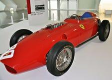 Fórmula 1 de Ferrari de la exposición Fotografía de archivo libre de regalías