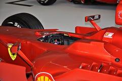 Fórmula 1 de Ferrari de la exposición Imagen de archivo