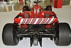 Fórmula 1 de Ferrari de la exposición Fotografía de archivo