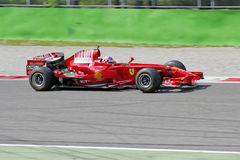 Fórmula 1 de Ferrari 248 f1 Imagen de archivo libre de regalías