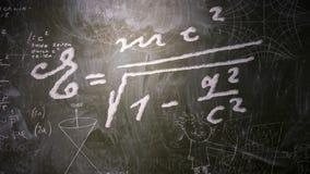 Fórmula de la energía ilustración del vector