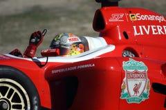 Fórmula de Superleague Foto de Stock Royalty Free