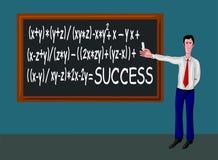 Fórmula del éxito Foto de archivo libre de regalías