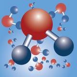 Fórmula del agua Imagen de archivo