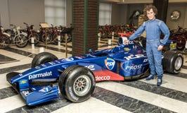 Fórmula 1 del coche de carreras Imágenes de archivo libres de regalías