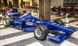 Fórmula 1 del coche de carreras Imagen de archivo libre de regalías