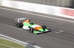 Fórmula 2 del coche de carreras Imágenes de archivo libres de regalías