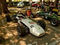 Fórmula 2 dos anos sessenta na bandeira 2017 da prata de Vernasca Fotos de Stock
