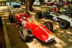 Fórmula 2 dos anos sessenta na bandeira 2017 da prata de Vernasca Imagens de Stock