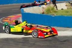 Fórmula E - Lucas Di Grassi - Audi Sport ABT fotografia de stock royalty free