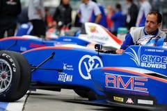 Fórmula europea Abarth en pista de raza de Monza Fotografía de archivo libre de regalías