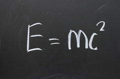Fórmula física Foto de archivo