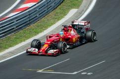 Fórmula 1 - Fernando Alonso Fotos de archivo libres de regalías