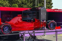 Fórmula 1, Grand Prix de Europa, Baku 2016 Foto de archivo