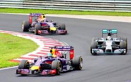 Fórmula 1 Prix grande húngaro Imagem de Stock Royalty Free