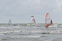 Fórmula que windsurfing foto de stock royalty free