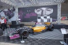 Fórmula Renault 3 5 series 2014 Foto de archivo libre de regalías