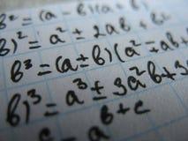 Fórmulas Fotos de Stock Royalty Free
