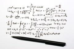 Fórmulas Imagens de Stock