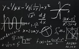 Fórmulas da matemática ilustração royalty free