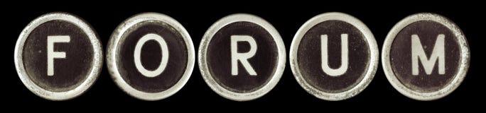 Fórum imagem de stock royalty free
