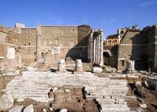 Fórum de Augustus imagens de stock
