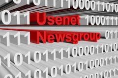 Fórum de discussão de USENET Foto de Stock