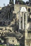 Fórum de Roma Foto de Stock