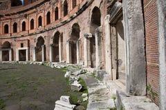 Fórum de Trajan Imagem de Stock Royalty Free