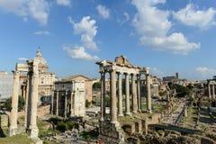 Fórum em Roma Itália Fotos de Stock
