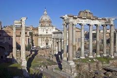 Fórum romano Foto de Stock