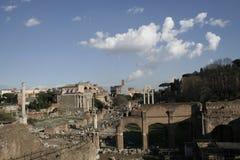 Fórum romano fotografia de stock royalty free