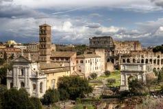 Fórum romano Imagens de Stock Royalty Free