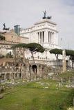 Fórum romano Aqui havia a vida social da cidade roma Foto de Stock Royalty Free