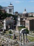 Fórum romano do Th Imagens de Stock