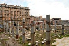 Fórum romano, em Roma Imagem de Stock Royalty Free