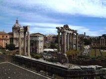 Fórum romano, Roma Fotos de Stock