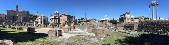 Fórum romano - Roma - Italy Foto de Stock