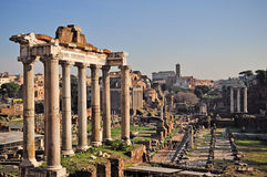 Fórum romano, Roma, Italy Imagens de Stock Royalty Free