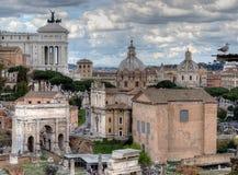 Fórum romano, Roma, Italy Imagem de Stock Royalty Free