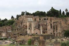 Fórum romano, Roma, Italy Fotos de Stock