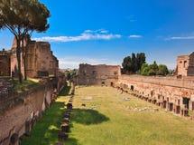 Fórum romano Roma, Italy, Europa. Imagens de Stock