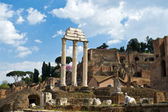 Fórum Romanum 1 Fotografia de Stock Royalty Free