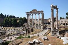 Fórum Romanum em Roma, Italy Imagens de Stock Royalty Free