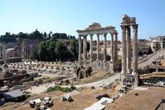 Fórum Romanum em Roma, Italy Fotografia de Stock Royalty Free