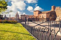Fórum Romanum - Palatinum, Roma, Itália Foto de Stock