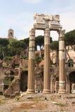 Fórum Romanum Roma Italy imagens de stock