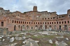Fóruns antigos de Roma Foto de Stock Royalty Free