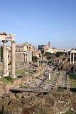 Fóruns imperiais em Roma Foto de Stock